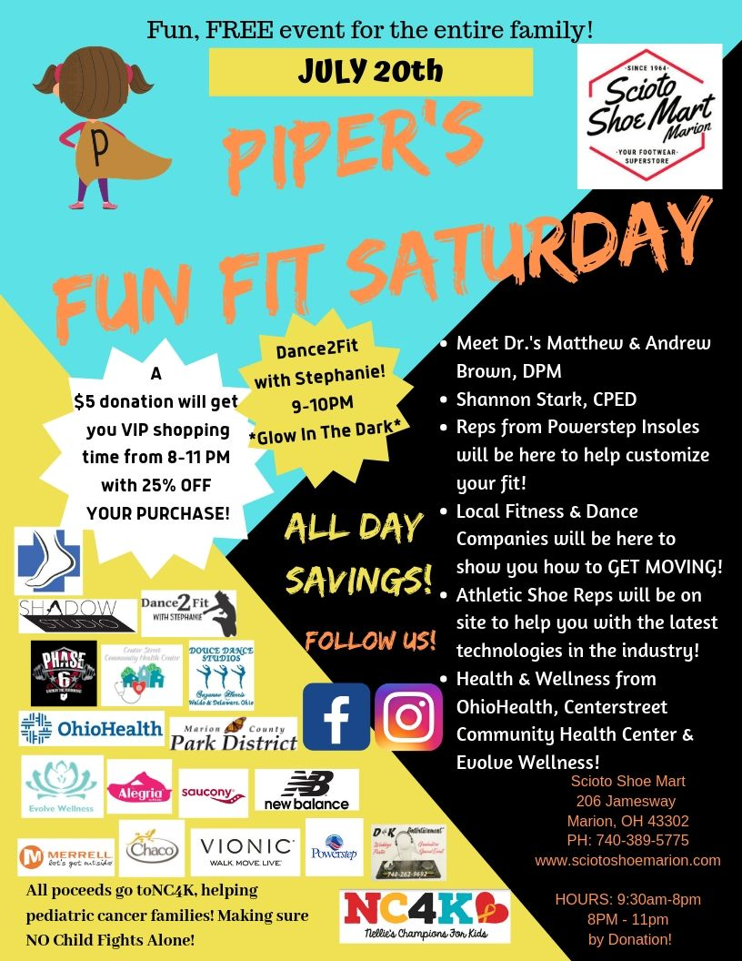 Piper's Fun Fit Saturday